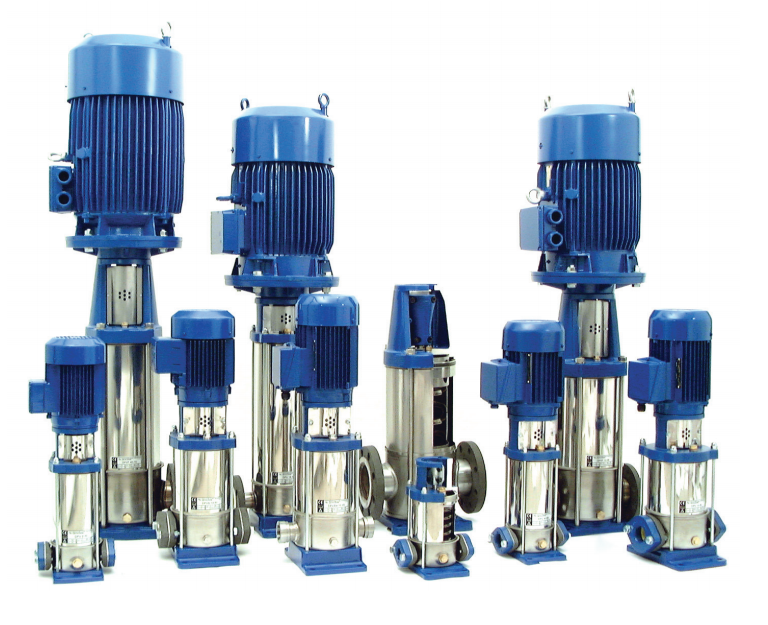 HIL Multistage Pumps in Stainless Steel 304 and 316