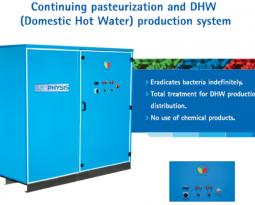 EUROPAK PASTORMASTER – DHW Generation & Legionella Eradiciation